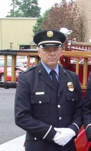 Conroe Fire Department Chief Will Wilkinson